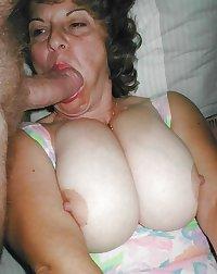 Grandma has big boobs
